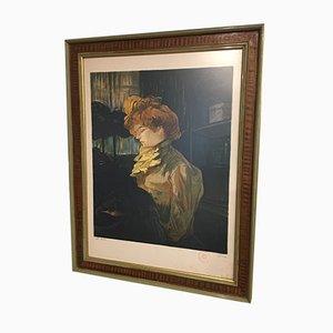 Lithographie Antique Henri de Toulouse Lautrec par Laurent Marcel Salinas