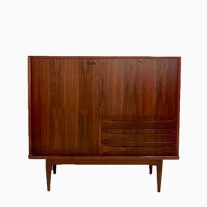 Danish Rosewood Highboard by Arne Vodder, 1960s