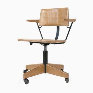 Chaise de Bureau sur Roues de Stoll Giroflex, 1969
