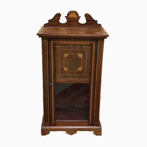 Antique English Mahogany Cabinet