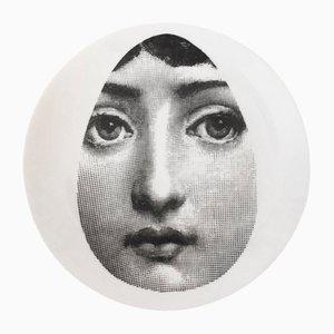 Assiette Theme and Variations Vintage par Piero Fornasetti pour Atelier Fornasetti