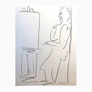 The Painter Lithographie von Pablo Picasso, 1962