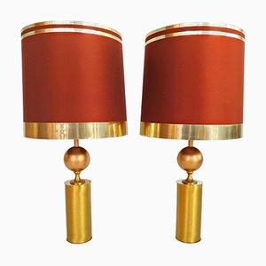 Lámparas de mesa españolas grandes de Lyma, años 70. Juego de 2