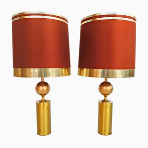 Large Spanish Table Lamps from Lyma, 1970s, Set of 2