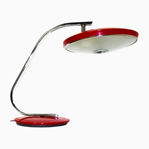 Vintage 520C Bordeaux Desk Lamp from Fase