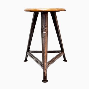 Tripod Stool by Robert Wagner for Rowac, 1930s
