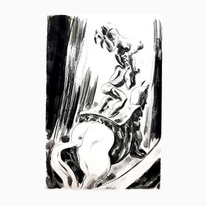 Aguafuerte Circus de Jean Gabriel Daragnès, 1946