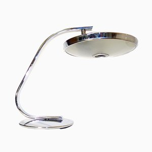 Vintage 520C Chromed Desk Lamp from Fase