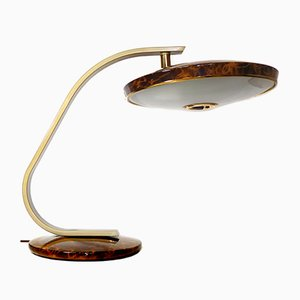 Vintage 520C Tortoise Desk Lamp from Fase
