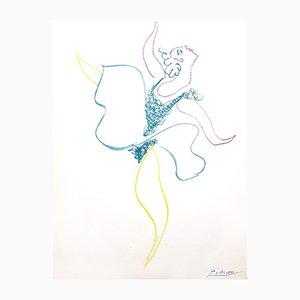 Litografia The Ballet Dancer di Pablo Picasso, 1964