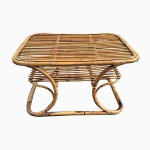 Italian Bamboo Coffee Table, 1960s