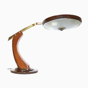 Vintage President Schreibtischlampe in Schildplatt-Optik von Fase