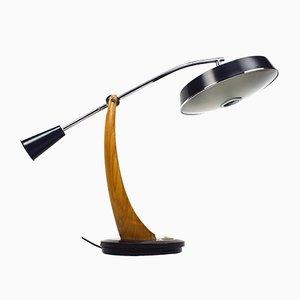 Vintage President Pendulum Schreibtischlampe in Schildplatt-Optik von Fase