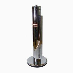 Verchromte Vintage Tharsis Schreibtischlampe von Fase