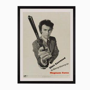 Póster estadounidense de la película Magnum Force de Bill Gold, 1973