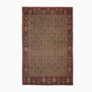 Antiker handgefertigter Teppich, 1860er