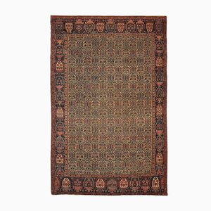 Antique Handmade Rug, 1860s