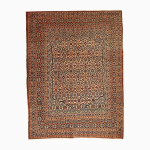 Antique Handmade Hajalili Rug, 1880s