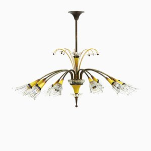 French Chandelier from Maison Lunel, 1950s