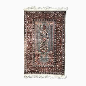 Vintage Turkish Silk Kayseri Rug