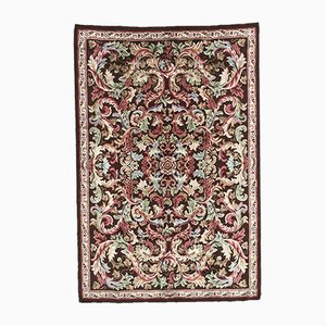 Vintage Aubusson Knotted Rug