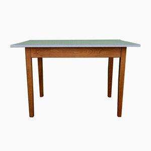 Table de Bistrot Blanche en Formica, 1950s