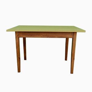 Table de Bistro en Formica Jaune, 1950s