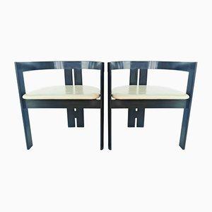 Italienische Pigreco Stühle von Afra & Tobia Scarpa für Gavina, 1960er, 2er Set