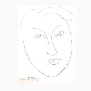 Young Man Radierung von Henri Matisse, 1946