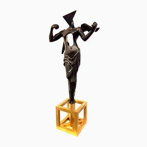 Sculpture The Surrealistic Angel en Bronze par Salvador Dalí, 1983