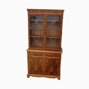Walnut Display Cabinet, 1960s
