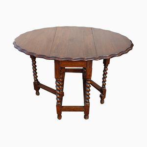 Tavolino dentellato in quercia , anni '30