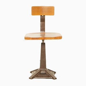 Antique Work Stool for Singer