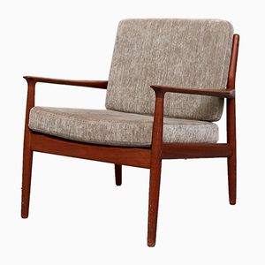 Vintage Teak Easy Chair by Svend Age Eriksen for Glostrup