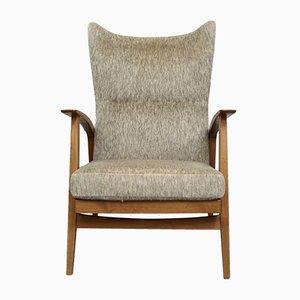 Chaise à Dossier Haut Vintage de Knoll Antimott