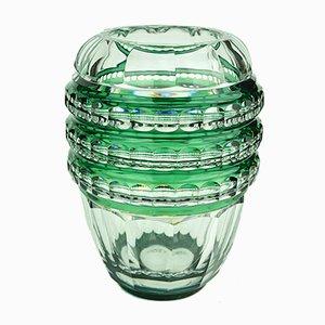 Vase Art Deco par Joseph Simon pour Val Saint Lambert, 1938
