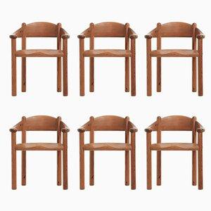 Esszimmerstühle von Rainer Daumiller für Hirtshals Sawmill, 1970er, 6er Set