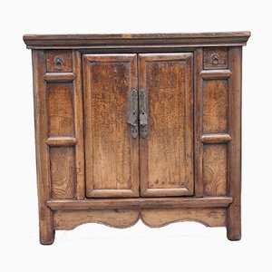 Antique Chinese Elm Rustic Dresser