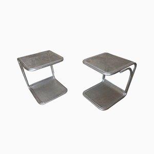 Vintage Side or End Tables, Set of 2