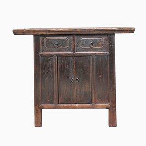19th Century Chinese Rustic Elm Dresser