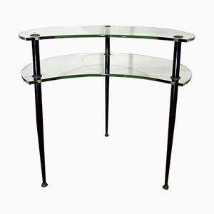 Coffee Table with 2 Shelves by Edoardo Paoli for Vitrex, 1950s