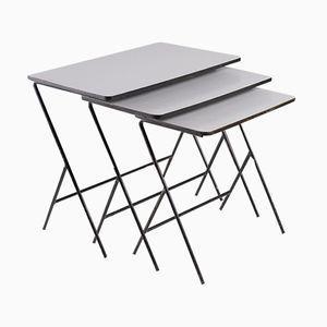 Tables Gigognes Modernistes de Pilastro, Pays-Bas, 1960s