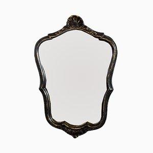 Specchio vintage con cornice in resina