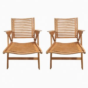 Rex Chairs by Niko Kralj for Stoll, 1950s, Set of 2