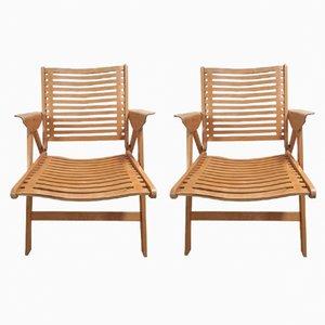Rex Chairs von Niko Kralj für Stoll, 1950er, 2er Set