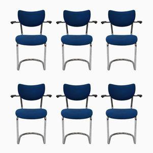 Model 3011 Chairs by Gebroeders De Wit for Gebr. de Wit, Set of 6