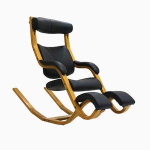 Rocking Chair Gravity Balans Vintage par Peter Opsvik pour Stokke