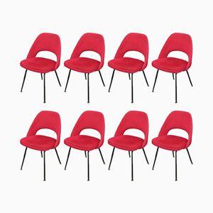 Chaises de Conférence par Eero Saarinen pour Knoll, 1957, Set de 8