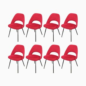 Conference Chairs by Eero Saarinen for Knoll, 1957, Set of 8