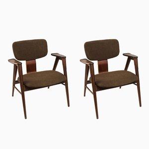 FB14 Stuhl von Cees Braakman für Pastoe, 1960er, 2er Set